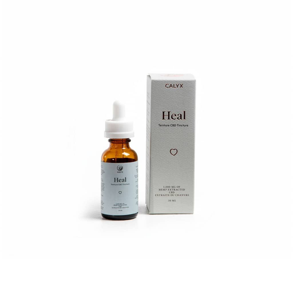 Box and Bottle of Heal Oil
